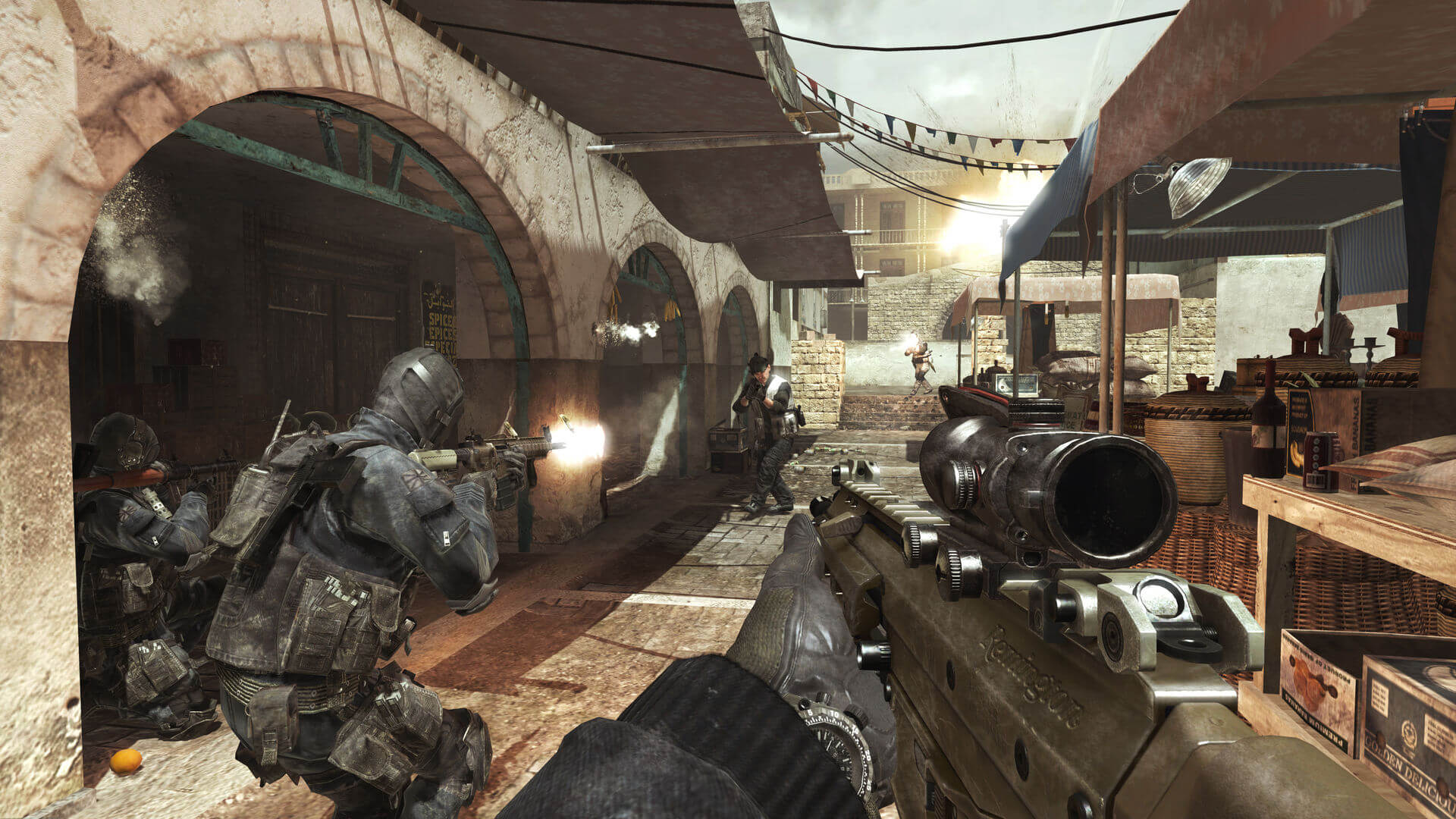 Investigate Call of Duty 4 Modern Warfare System